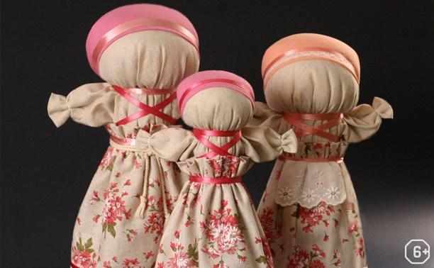 Народная кукла-закрутка, мастер-класс