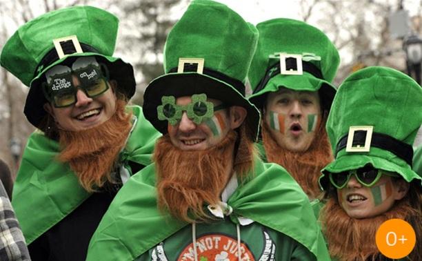 Ирландское шествие в Туле