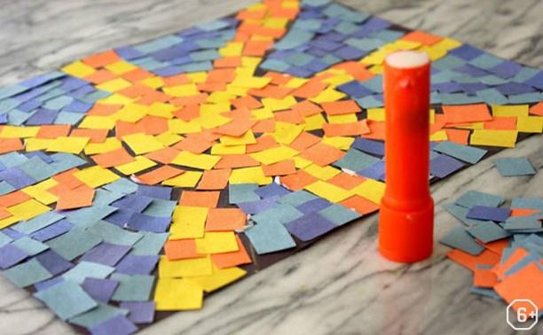 Мастер-класс: бумажная мозаика