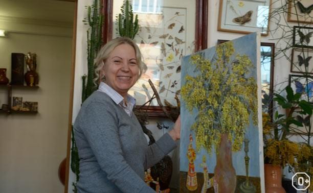 Выставка живописи Елены Андрус