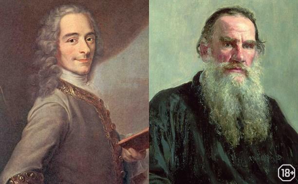Лев Толстой и Вольтер: литература, философия, религия