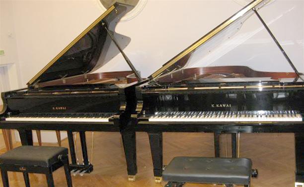 Концерт-презентация роялей