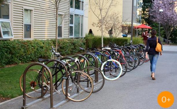 Велопробег студентов