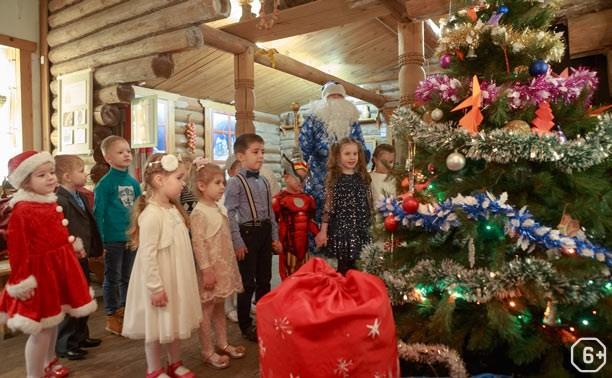 В гостях в Деда Мороза