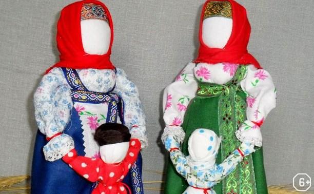 Мастерская народной куклы: Кукла Ведучка