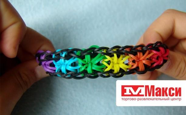 Плетение браслетов из резиночек