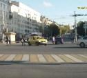 Грубое нарушение ПДД на ул. Дмитрия Ульянова