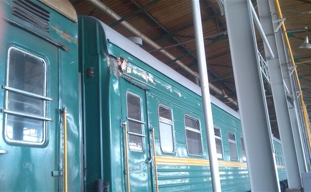 Крушение поезда в Подмосковье 20.05.14