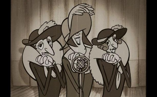 Трое в колымажке, в головках таракашки...