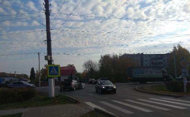 Автомобильная авария в Плавске