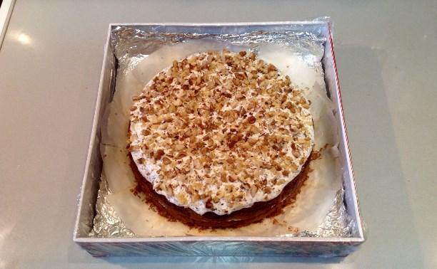 Кисельный пирог с маком и орехами. Советы начинающим хозяйкам