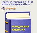 Грядущие изменения в ГК РФ – обзор от КонсультантПлюс