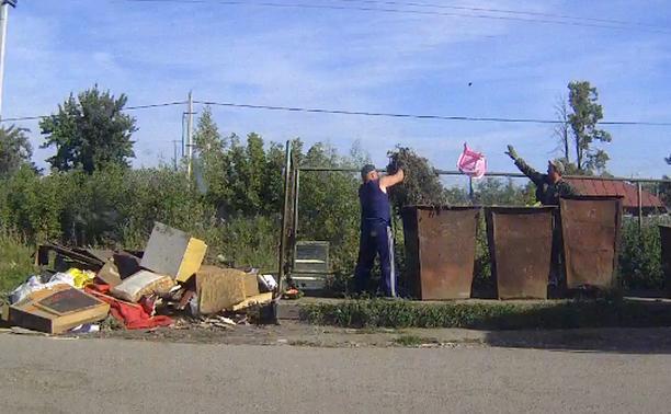 Уборка мусора в Советске