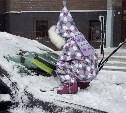 Лучшие зимние забавы: чистка машины, полёт на сноуборде, снежные ванны