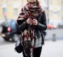 Как носить шарф-плед?