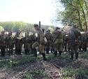 Военно историческая реконструкция 9-го мая в Туле.