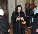 Народная артистка России Лариса Лужина в селе Мокрый Корь