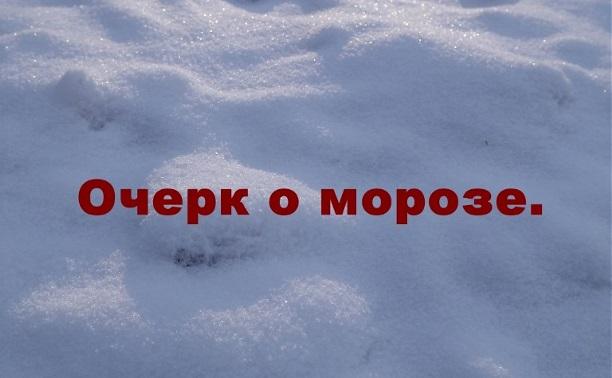 Очерк о морозе.
