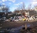 Мясново утопает в мусоре