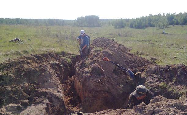 Тульские поисковики обнаружили останки 14 бойцов и командиров РККА