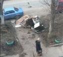 Вывоз мусора по-русски...