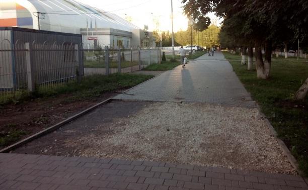 Что делать с тротуаром?