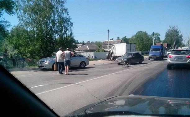 ДТП с тремя авто