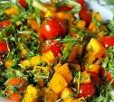 Блюда из овощей, фруктов и грибов