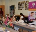 Мастер-класс  в Детской областной больнице.