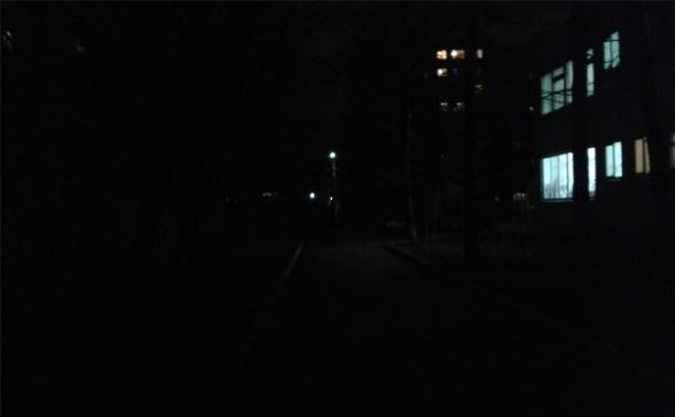 Темнота возле сада номер 150