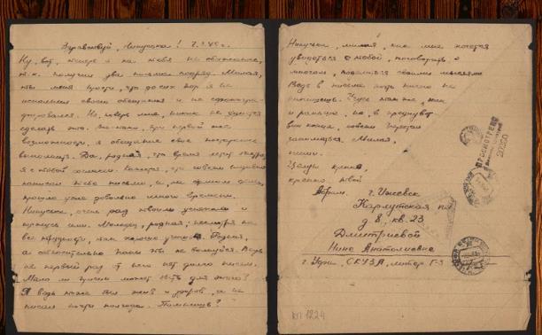 Дневники войны. Письмо Абрама Дубровского