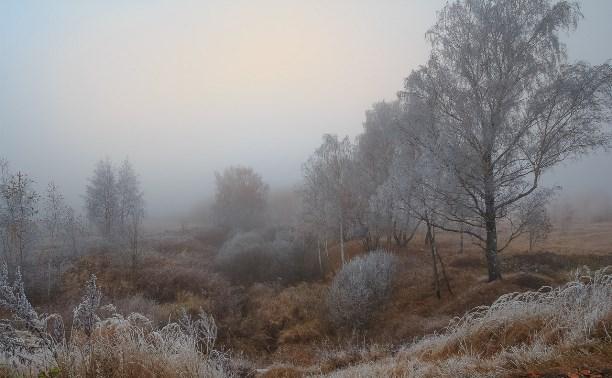 Сильный туман 7 ноября 2015