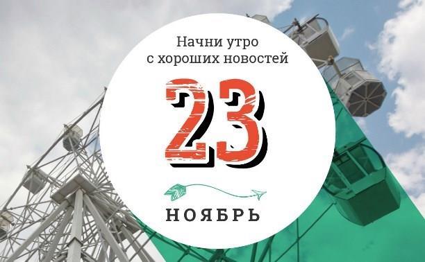 23 ноября: топ ненадежных паролей и киберпанк в современной Рязани