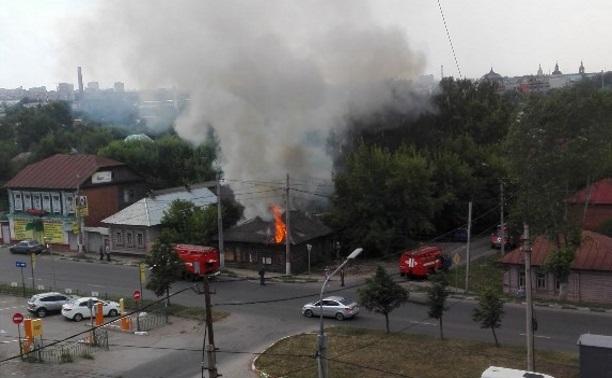 Пожар на ул. Пролетарской