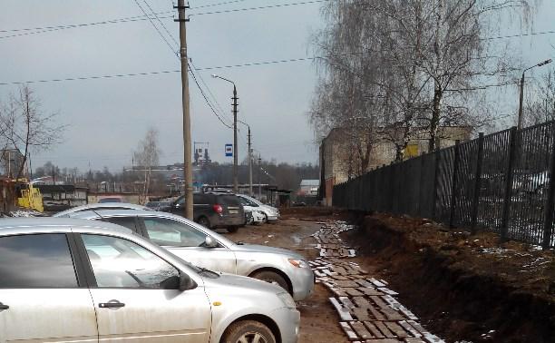 Карман для машин горбольницы №9 (Новомедвенский проезд д.2)
