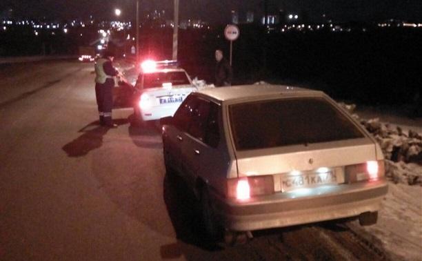 Погоня: туляк помог задержать пьяного за рулём