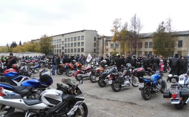 Закрытие мотосезона в Новомосковске