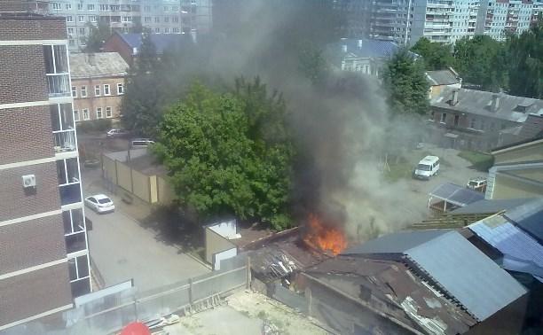 Пожар на Демонстрации