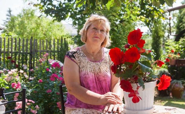 Дачный конкурс: Триста роз, хвойники и прудик Любови Комягиной