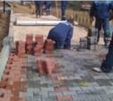 Укладка тротуарной плитки в Туле закончена?