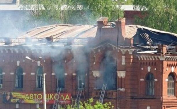 Пожар в Плавске