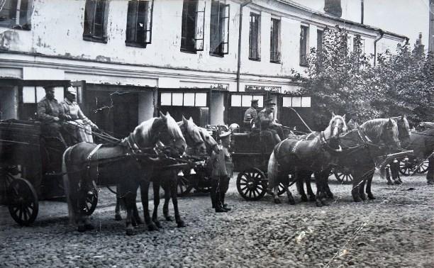 28 мая: Тульская пожарная команда и железная дорога договорились о цене пожара