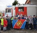 Школьникам показали пожарную часть