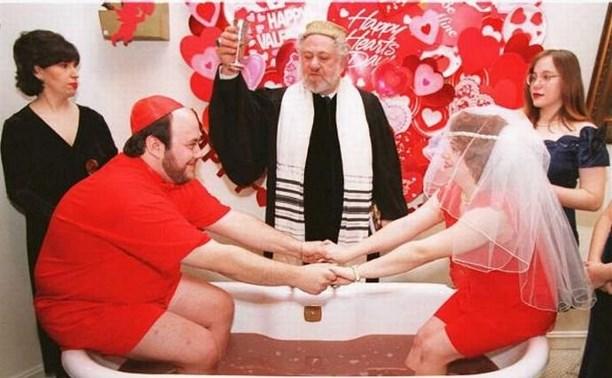Самые необычные свадьбы