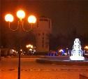 Зимняя сказка Кировского сквера