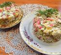 Картофельный салат с крабовыми палочками