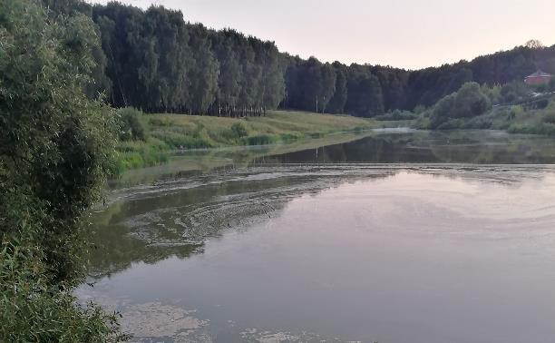 Загрязнение пруда на Верхней Стрекаловке
