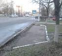 """Новая парковка на Лейтейзена, 6? Заехал в """"Градус"""" – оставь машину!!"""