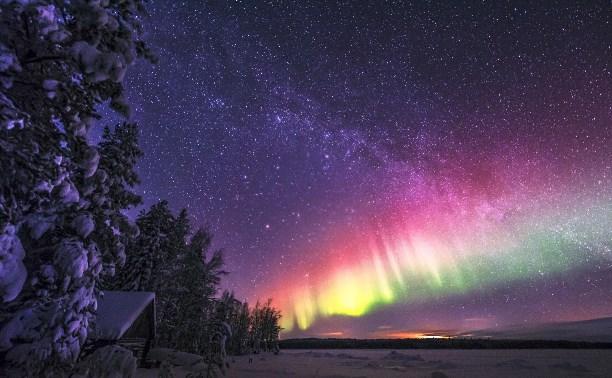 21 февраля: в Туле наблюдали северное сияние