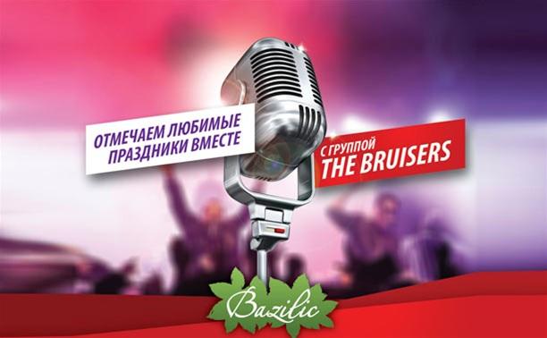 """Отмечаем любимые праздники в кафе Базилик вместе с группой """"Bruisers""""!"""